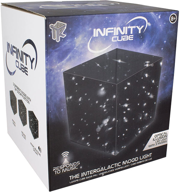 Paladone Infinity Cube Sound Reactive Mood Light Multi-Color