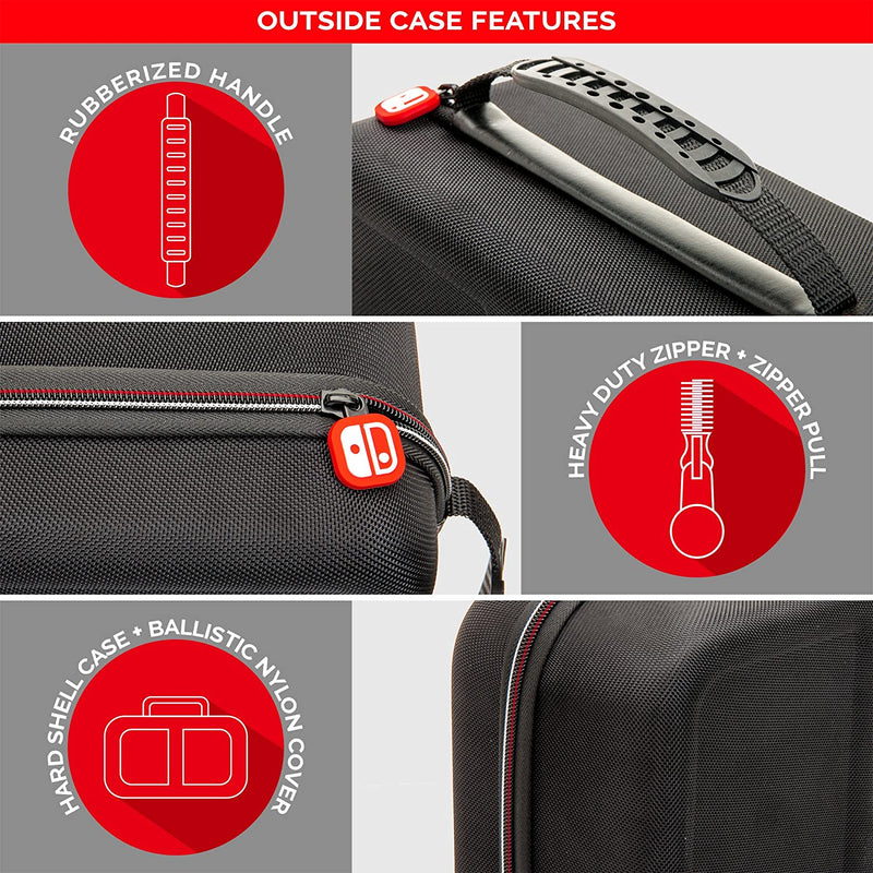 Nintendo Switch Traveler Deluxe System Case By RDS