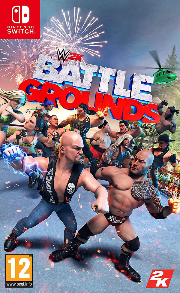 [NS] WWE 2K BATTLE GROUNDS - R2 (Arabic)