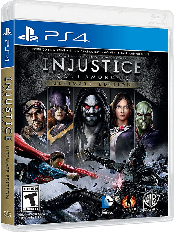 [PS4] Injustice: Gods Among Us - Ultimate Edition - R1