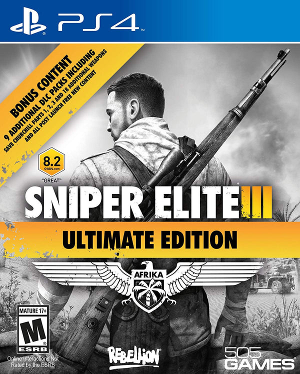[PS4] Sniper Elite III Ultimate Edition - R1