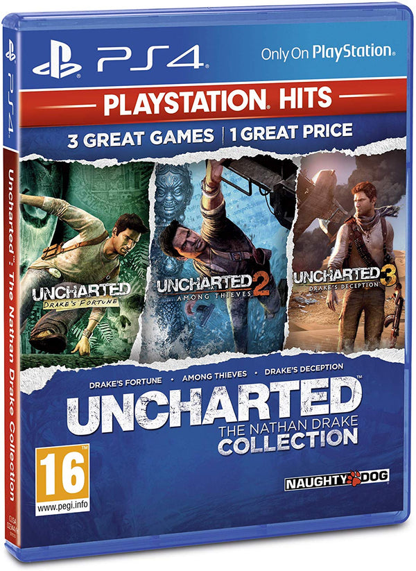 [PS4] Uncharted Collection - R2