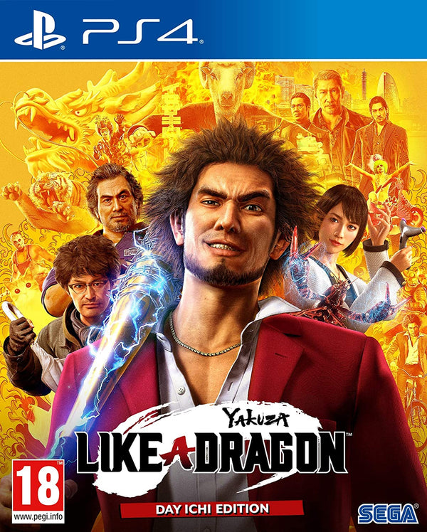 [PS4] Yakuza: Like a Dragon Day Ichi Steelbook Edition - R2
