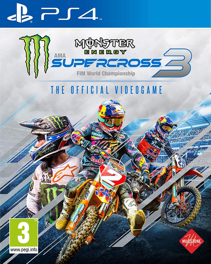 [PS4] Monster Energy Supercross 3 - R2