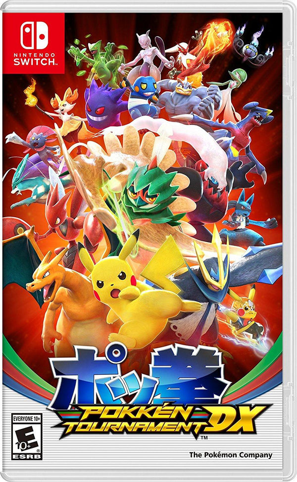 [NS] Pokkén Tournament DX - R1