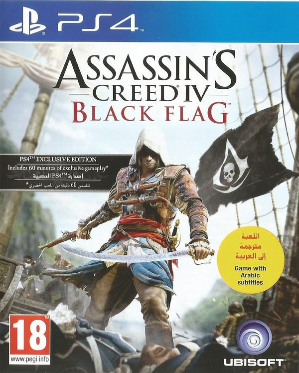 [PS4] Assassin's Creed IV Black Flag - R2 (Arabic)