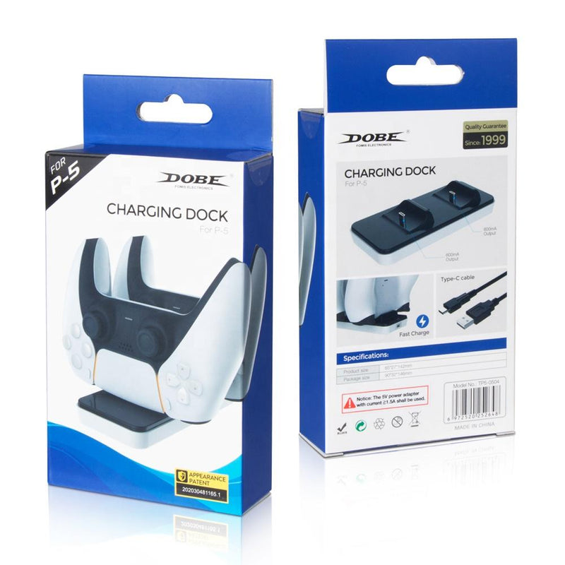 DOBE DUAL CHARGING DOCK FOR PS5 CONTROLLER