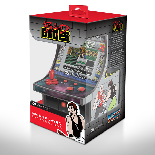 My Arcade BAD DUDES™ MICRO PLAYER™ - 2.75""