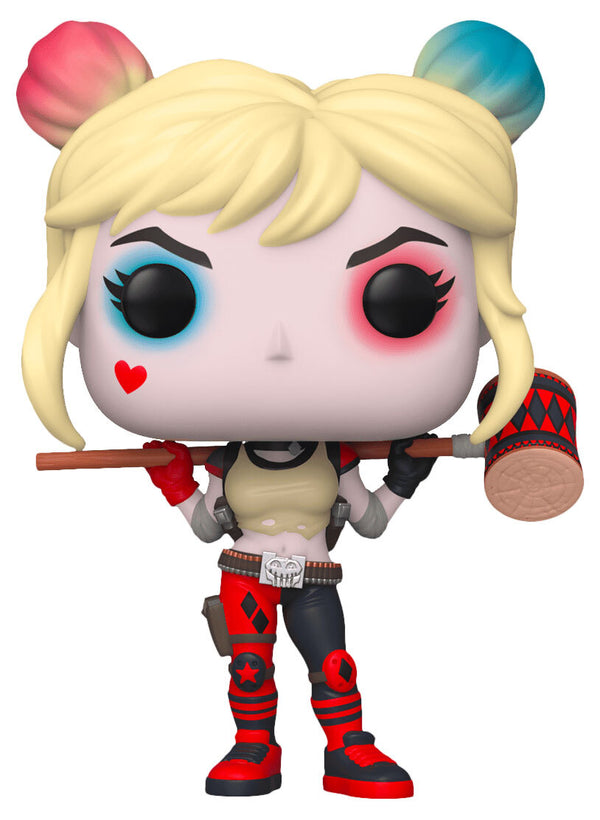 Funko POP! DC Super Heroes - Harley Quinn Comic Con  Kuwait 2020 Limited Edition