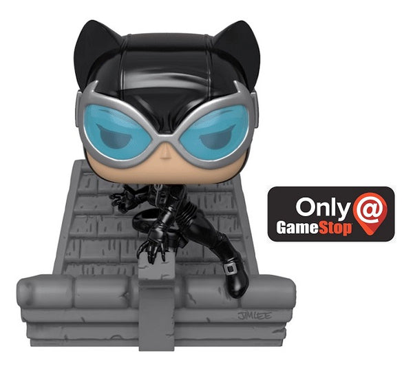 Funko POP! DC Super Villains Deluxe - Catwoman (Jimlee DC Collection)