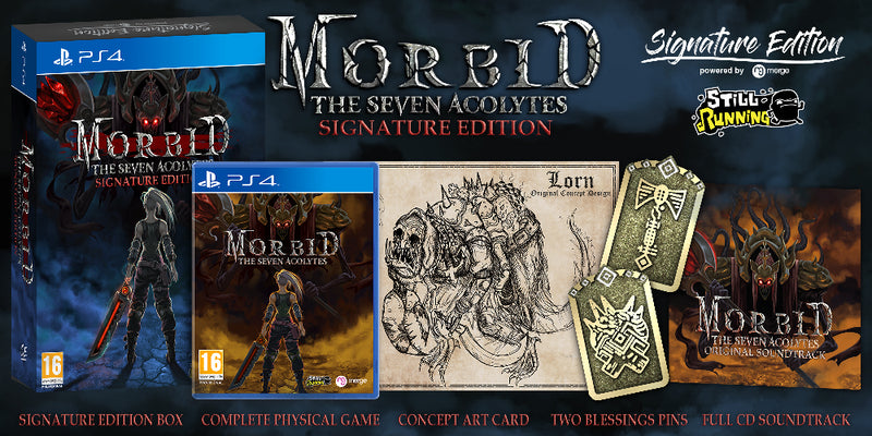[PS4] Morbid: The Seven Acolytes Signature Edition - R2