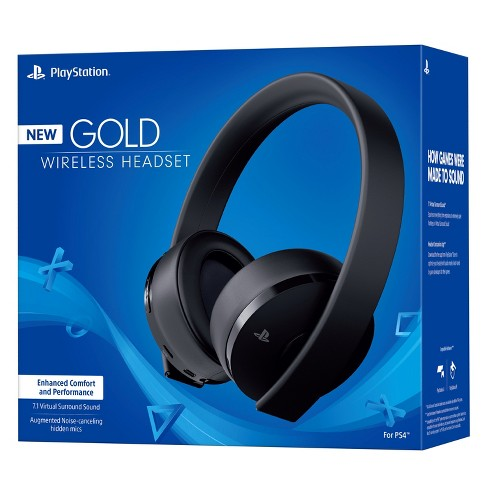 PlayStation Gold Wireless Headset - Black