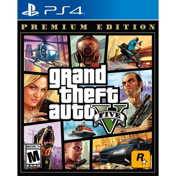 [PS4] Grand Theft Auto V Premium Edition - R1