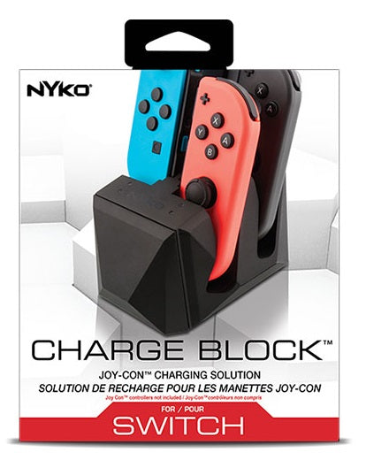 Nyko Charge Block 4 port Joy-Con Charge Station for Nintendo Switch