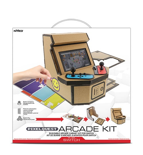 Nyko Pixelquest Arcade Kit for Nintendo Switch
