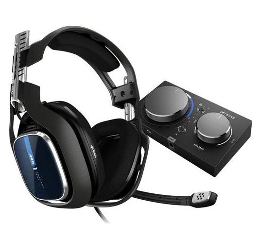 Astro A40 TR Headset + MixAmp Pro TR for PS4