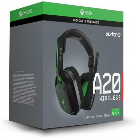 Astro Gaming A20 Wireless Headset - Black/Green