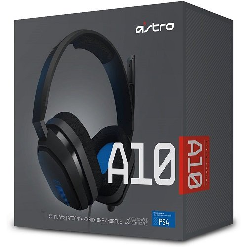 ASTRO: Gaming A10 Gaming Headset - Blue/Black