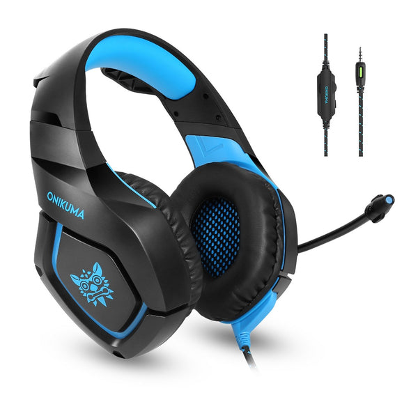 Onikuma K18 Blue- Gaming Headset
