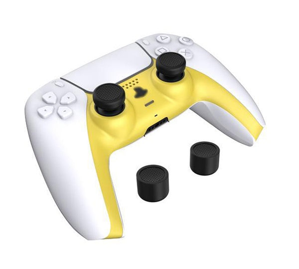 GT Controller Style Mod Pack for PS5 DualSense (Yellow)