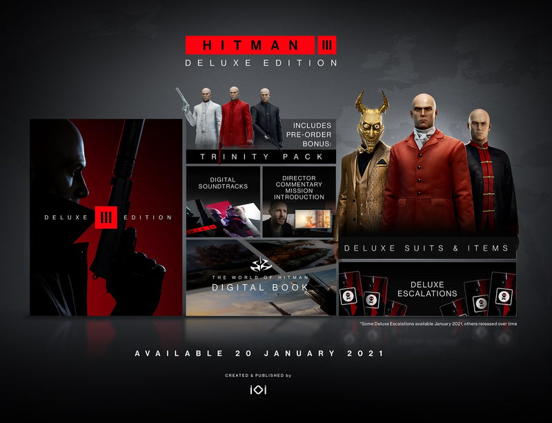 [PS4] Hitman 3 Deluxe Edition - R2