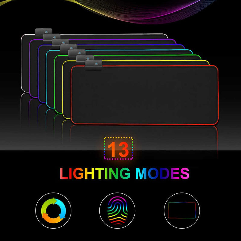 iMice RGB Gaming Mouse Pad - 80x30 cm