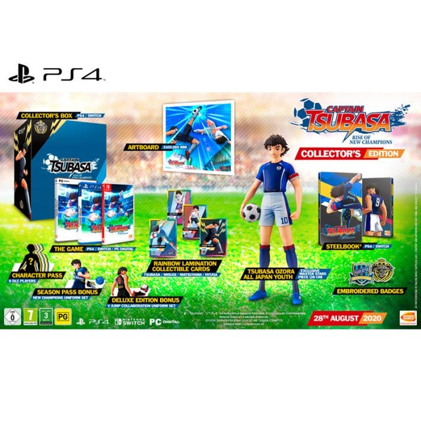 [PS4] Captain Tsubasa: Rise of New Champions - Collector's Edition - R2