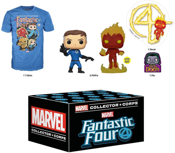 Marvel Fantastic Four Collector Corps Funko Box