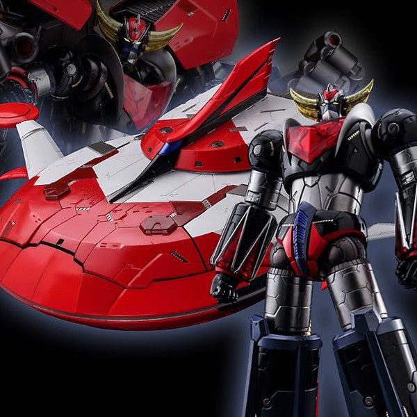 Riobot Grendizer and Spazer set  - Chogokin by Sentinel -