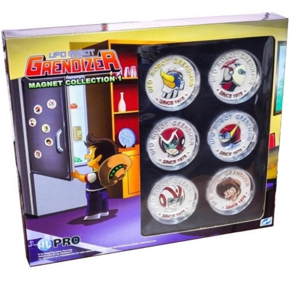 UFO ROBOT GRENDIZER MAGNETS 6-PACK