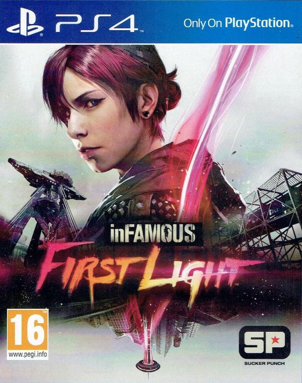 [PS4] inFAMOUS: First Light - R2