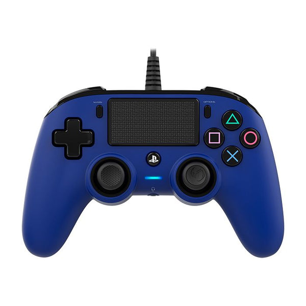 Nacon Compact Controller for PS4 - Blue
