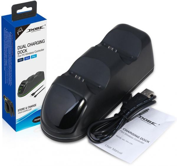 DOBE - Dual Charging Dock for PS4 Controllers