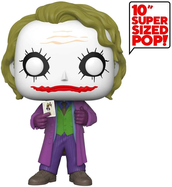 "Funko Pop Heroes: DC Comics The Joker - 10"" Super Sized Vinyl Figure"