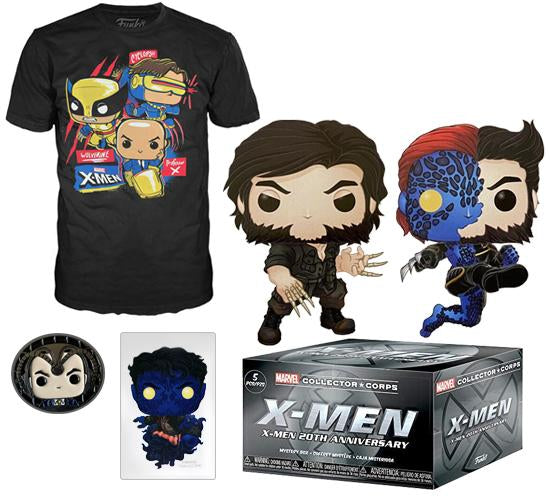 Marvel Collector Corps: X-Men 20th Anniversary Box - Medium T-Shirt
