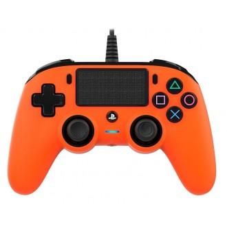 Nacon Compact Controller For PS4 - Orange