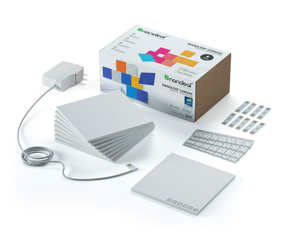 Nanoleaf Canvas - Square - White - 9 Pack - TW