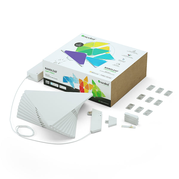 Nanoleaf Light Panels SMK – Rhythm Edition - Triangle - White - 9 Pack - TW