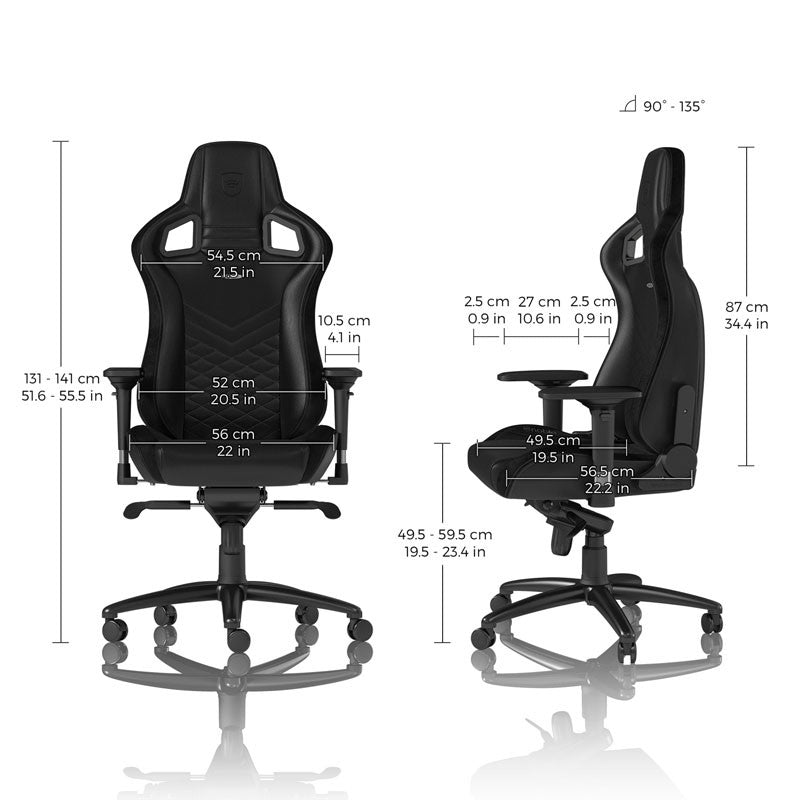 Noblechairs EPIC Series - Black