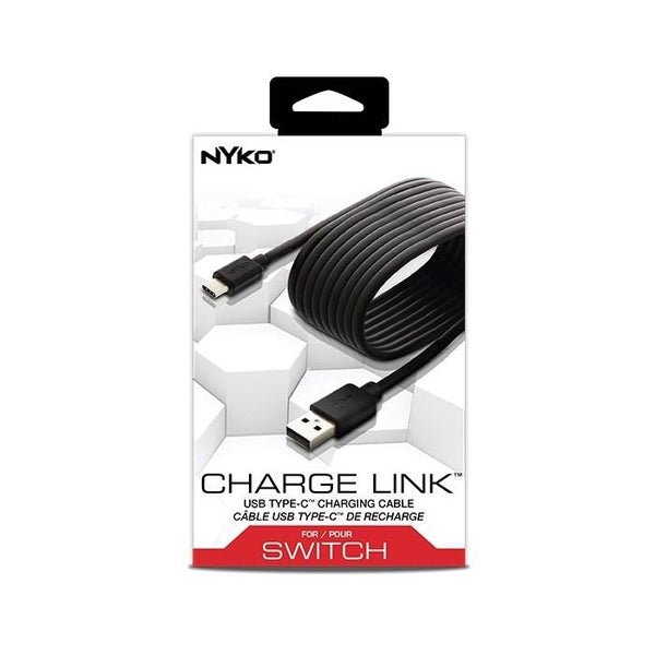 NYKO Charge Link USB Type-C 2.5 Cm - Nintendo Switch