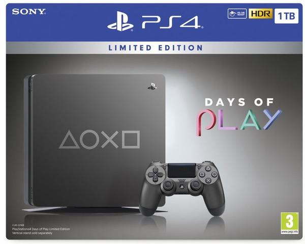 PlayStation 4 1TB Slim Days Of Play Limited Edition