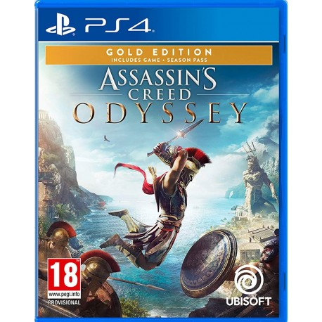 [PS4] Assassin's Creed Odyssey Gold Edition - R2 (Arabic)
