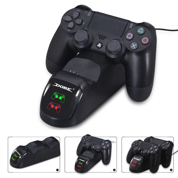DOBE Dual Charging Dock for PS4 Controllers