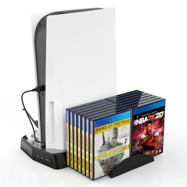KJH - Charging Stand w/ Cooling Fan for PS5