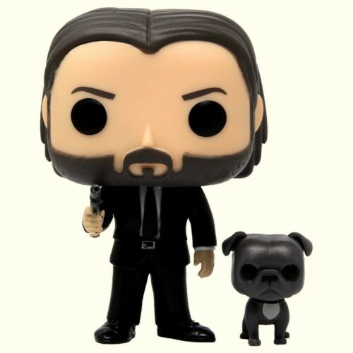 Funko Pop Movies : John Wick With Dog