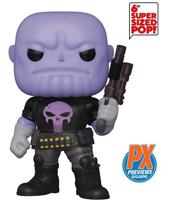 Funko POP! Marvel - Thanos Earth 18138 (PX Exclusive)