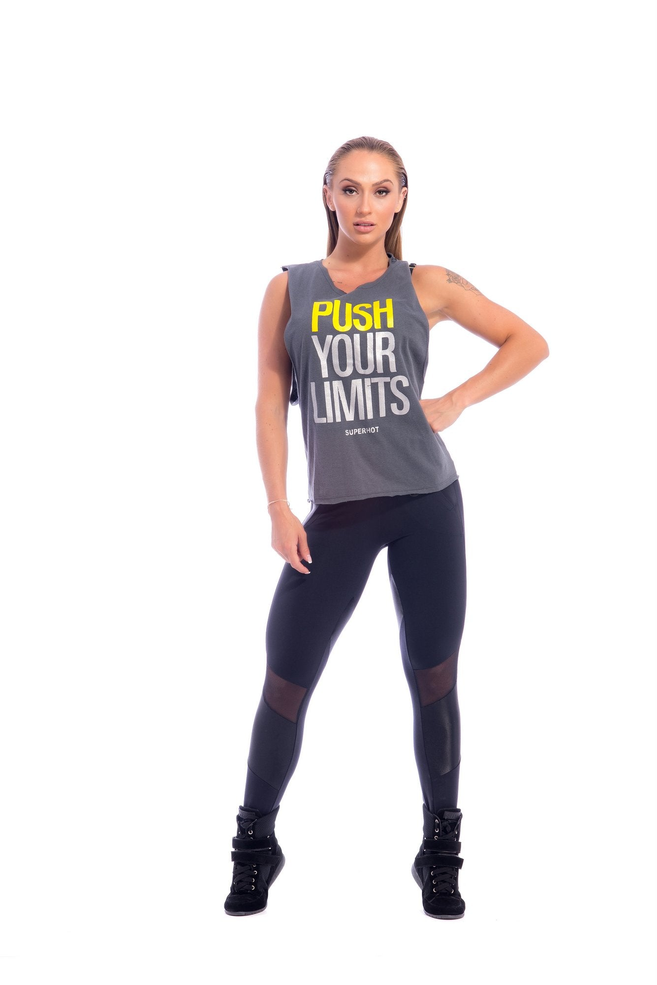 Push Your Limits Tank Top - SUPERHOT - FitZee
