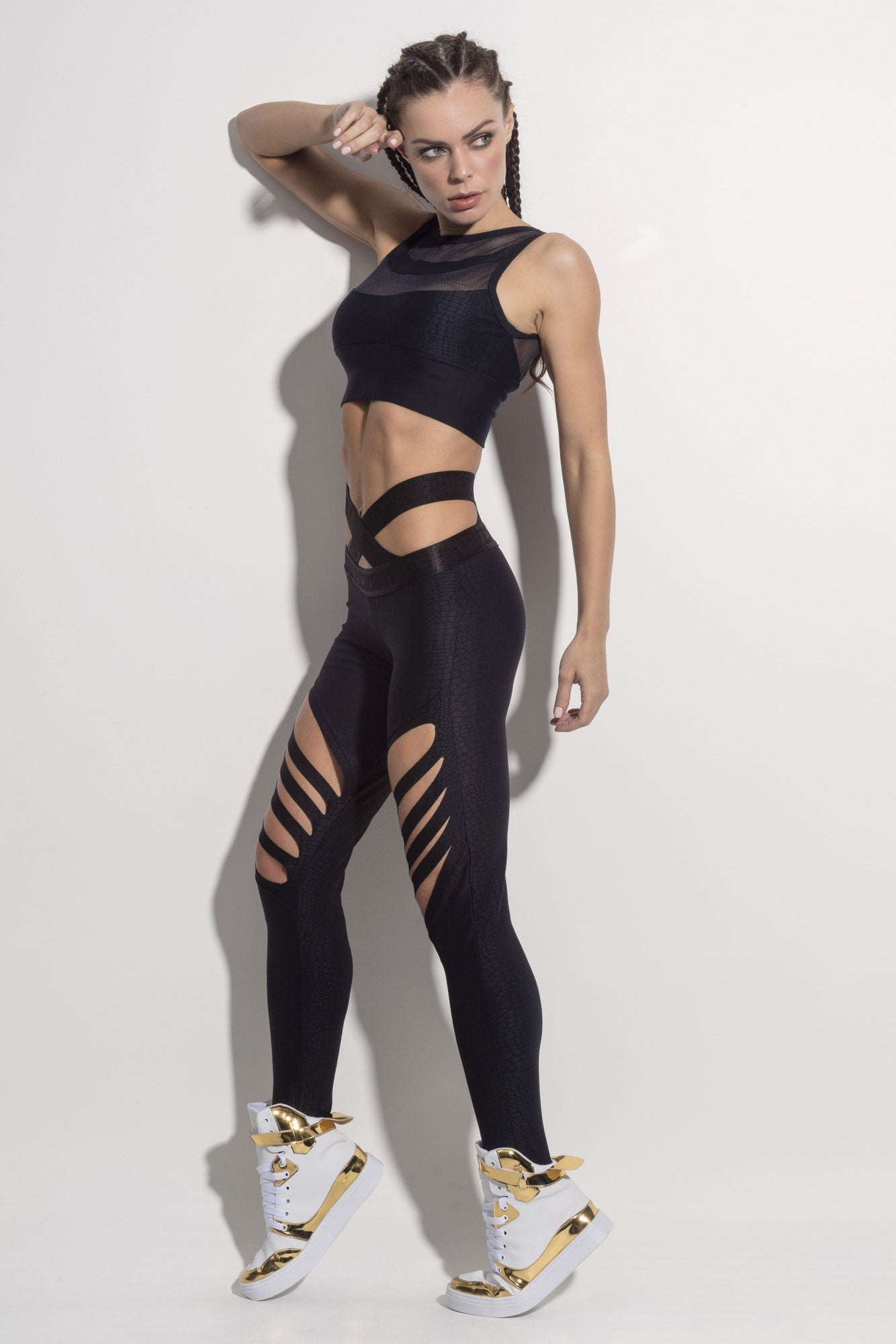 Superhot Danger Legging