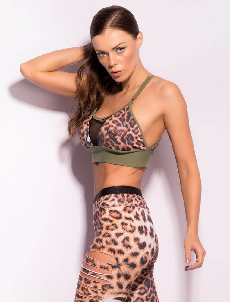 Animal Instinct Top - SUPERHOT - FitZee
