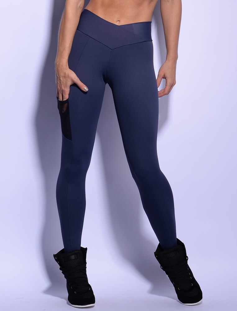 Blue Tech Legging - SUPERHOT - FitZee